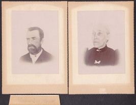 Thomas Jessop Bottomley, Wife Amelia A. Frost & Son (3) Photos - Wisconsin - $39.75