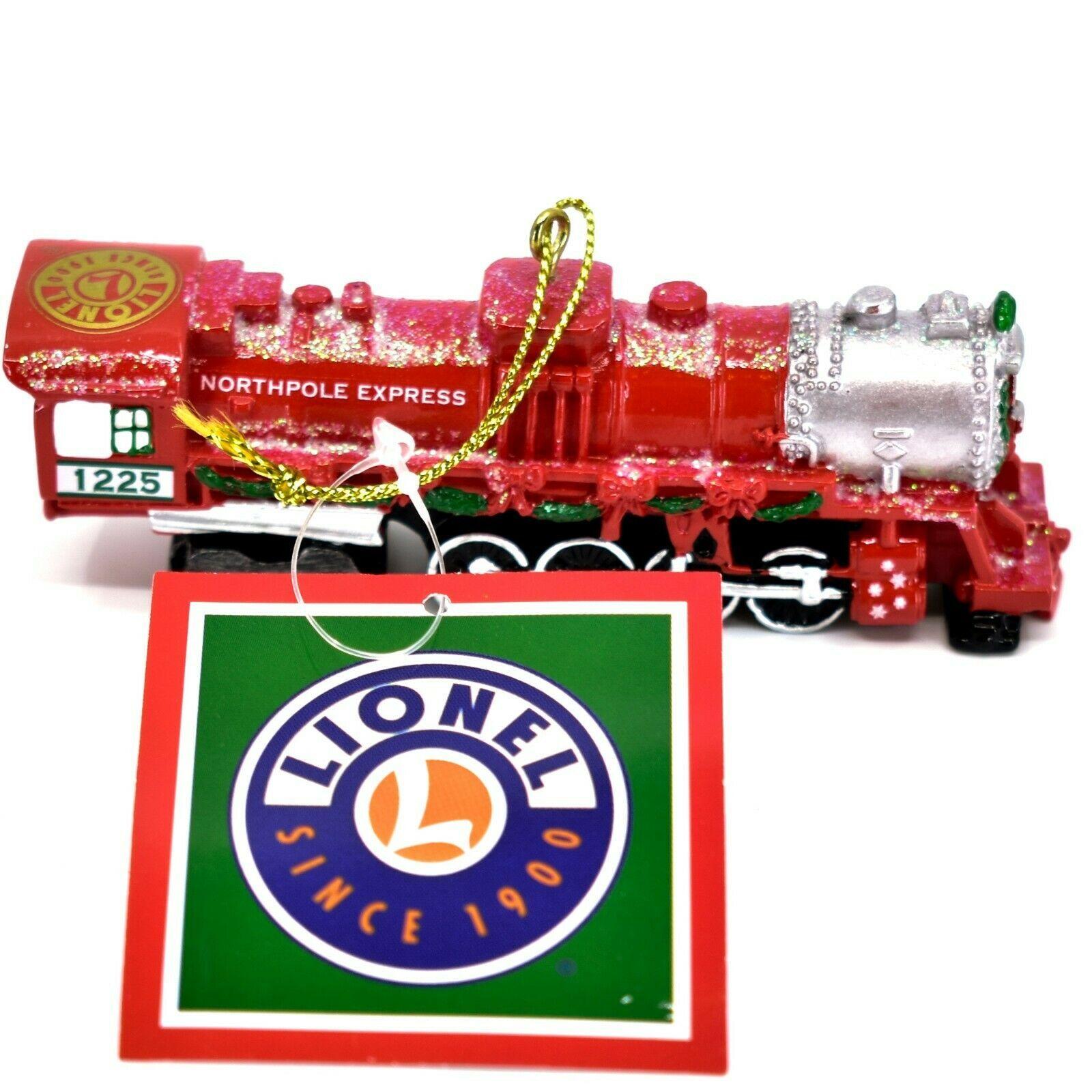Kurt S. Adler Lionel Northpole Express 1225 Train Christmas Ornament