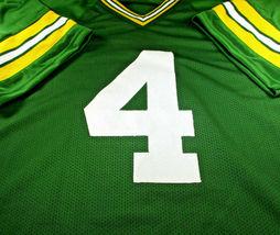 BRETT FAVRE / NFL HALL OF FAME / HAND SIGNED GREEN BAY PACKERS CUSTOM JERSEY COA image 2