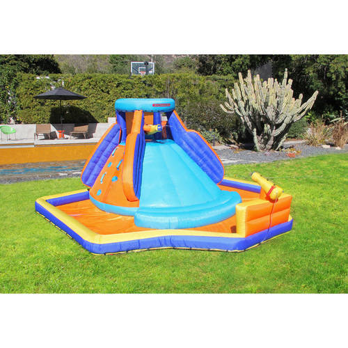 Inflatable Water Slide Splash Play Outdoor Party Climb ...