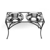 Elevated Dog Food Bowl Feeder - Arbor Double Diners - $64.00+