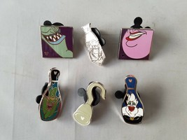 Disney Trading Pins Official Villains Collectible Lot of 6 - $18.59