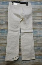 Express Editor Dress Pants 6 x 32 Women's White Straight Stretch          (D-85) image 6