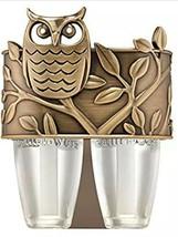 Bath & Body Works Bronze Owl Scent Switching Duo Nightlight Wallflower P... - $10.69