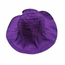 PANDA SUPERSTORE Women's Fashion Sun Visor Cap Summer Beach Cap Sun Hat for Trav