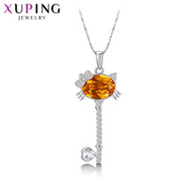 Xuping Elegant Love Pattern Crystals from Swarovski Women Pendant Neckla... - $17.99