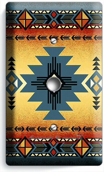 LATIN SOUTHWEST WESTERN COUNTRY PATTERN LIGHT DIMMER CABLE WALL PLATE ROOM DECOR