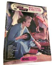 Rock 'N' Roll Is Here To Stay Easy Play Hal Leonard Organ Book - $16.82
