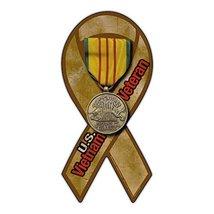 Refrigerator Magnet - Ribbon Shaped - Vietnam War Veteran - Support, Pri... - $6.99