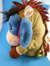 "Disney Store Eeyore in Toy Story Bullseye Costume Adorable  Plush 12"" Si... - $12.46"