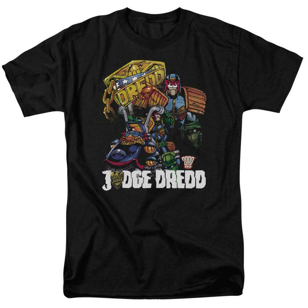 Judge Dredd 2000 AD T Shirt retro vintage comic book graphic tee 70s 80s JD112