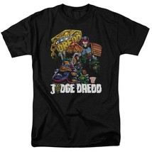 Judge Dredd 2000 AD T Shirt retro vintage comic book graphic tee 70s 80s JD112 image 1