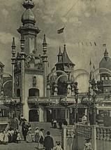 Old Early 1900s Postcard Luna Park Scene, Coney Island, New York NY Amer... - $9.79