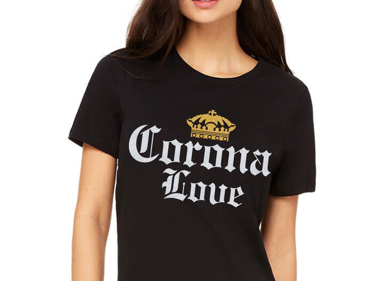 corona love Corona extra Bottle beer T Shirt, cinco de mayo party tee shirt