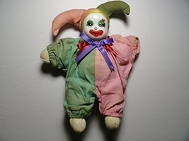 Ceramic Headed Clown Jester Doll - $15.99
