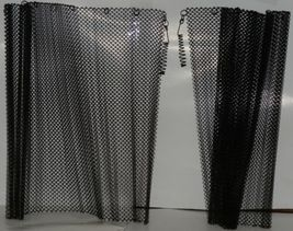Fireplace 2418 Replacement Screens Heavy Guage Steel Woven Wire Mesh Black 1 Set image 5