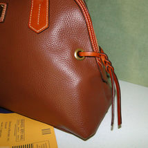 Dooney & Bourke Domed Pebble Leather Shoulder Bag image 4