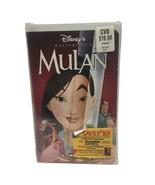 Mulan (VHS, 1999) Disney Masterpiece Movie new sealed - $5.88