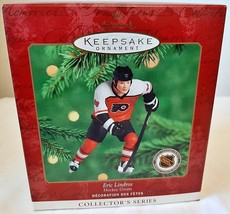 1998 Mario Lemieux Hockey Greats Upper Deck Hallmark Ornament with Card - $42.75
