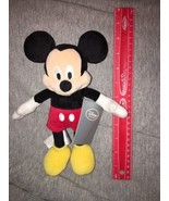 "Disney Store Mickey Mouse Plush Doll 10"" NWT - $7.91"