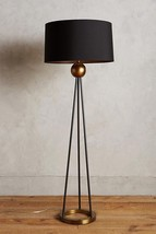 Anthropologie Horchow French Deco Mid Century Modern Antique Brass Floor... - £812.67 GBP