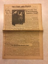Stars and Stripes Newspaper Sep 7 1945 Truman Urges Cut in Taxes, Vet Be... - $20.00