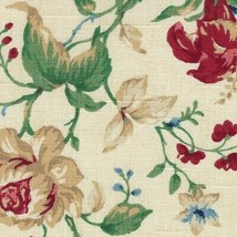 Longaberger Large Over the Edge Recipe Liner ~ Heirloom Floral Fabric ~ - $18.56
