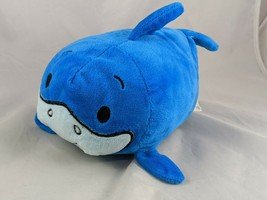 "Bun Bun Blue Shark Stacking Plush 8"" 2017 Basic Fun Stuffed Animal Toy - $8.95"