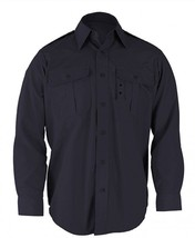 Propper Police L/S MR LAPD Navy BDU Tactical Shirt F530238450 New - $29.37