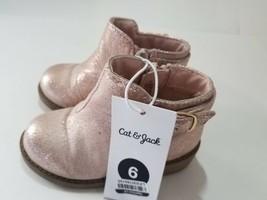 Toddler Girls Etoile Metallic Ankle Fashion Boots - Cat & Jack - Rose Go... - £10.73 GBP