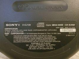sony cd walkman D-EJ109 image 4