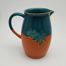Starbucks  Teal & Orange Pitcher 2006 48 Oz - $13.58