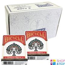 6 DECKS BICYCLE CHINESE OPERA PLAYING CARDS MAGIC TRICKS USPCC NEW - $52.66