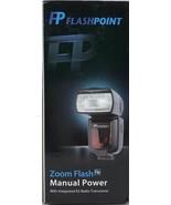 Flashpoint - FPLFSMZ - Zoom R2 Manual Flash Integrated R2 Radio Transceiver - $79.15