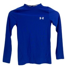 Under Armour heat gear compression youth kids long sleeve port tshirt si... - $12.98
