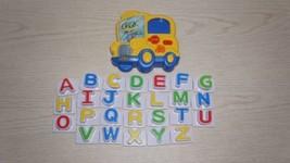 LeapFrog Fridge Phonics Magnetic Letter Set Alphabet SCHOOL BUS Complete... - $14.01