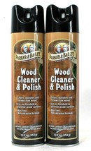 2 Cans Parker & Bailey 12.5 Oz Wood Cleaner & Polish Wax Free Non Abrasive  - $24.99