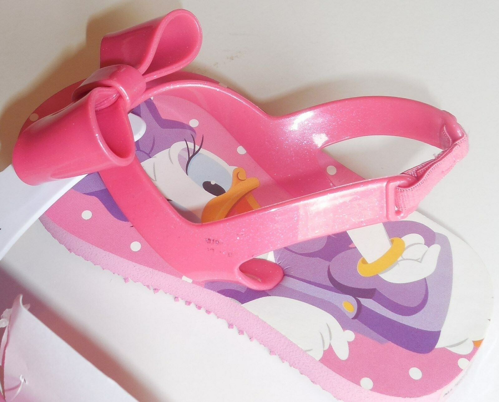 Disney Minnie Mouse Daisy Duck Girls 5/6 Toddler Sandals Pink New