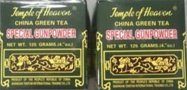2 Boxes Of Temple Of Heaven China Green Tea - Gunpowder Loose Tea - (4.4... - $12.95