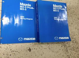 2003 Mazda MX-5 MX5 Miata Mazdaspeed Service Repair Shop Manual Set W EW... - $148.45