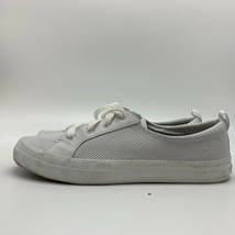 Sperry Crest Vibe Mini STS83543 Perforated White Sneakers, Women's, Size 10M - $24.18 CAD