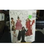 McCall's 6154 Girl's Bride, Princess, Goth, Singer Costume Pattern - Siz... - $6.72