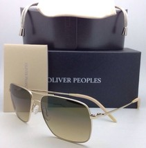 OLIVER PEOPLES PHOTOCHROMIC Sunglasses CLIFTON OV 1150-S 5035/85 Gold wi... - $439.95