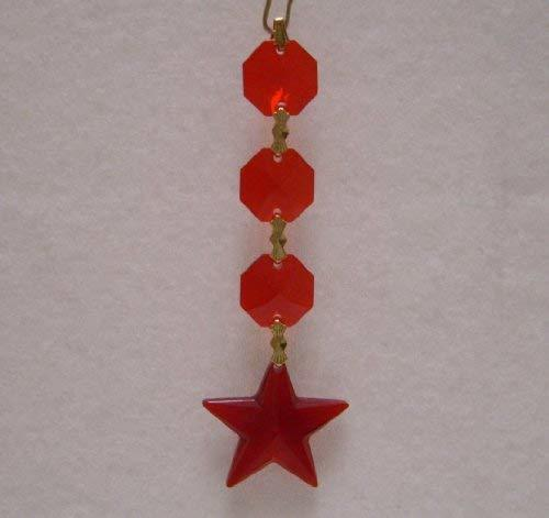 J'Leen Star Crystal Chain - Bordeaux
