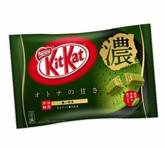 Nestle Japan KitKat Green Tea  Dark Strong Matcha  ( Pack of 2 ) - $19.31