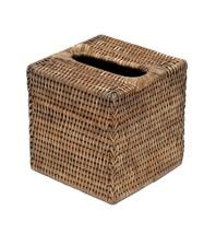 "Artifacts Trading Company Rattan Column Tissue Box, 6"" x L x 6"" H x 6"" W - $810,73 MXN"