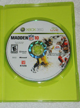 Madden NFL 10 (Microsoft Xbox 360, 2009) with Plastic Case and Free Shipping - $9.46