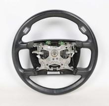 BMW E65 E66 7-Series Black Heated Leather Steering Wheel 2002-2005 OEM - $113.85