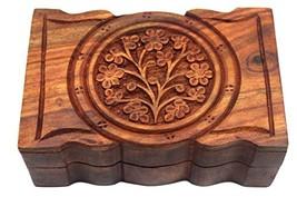 Govinda Rosewood Box Tree of Life 4 x 6 Inch - $10.89