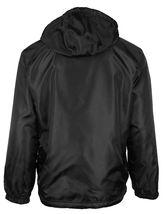 LAX Men's Premium Water Resistant Security Reversible Jacket With Removable Hood image 3